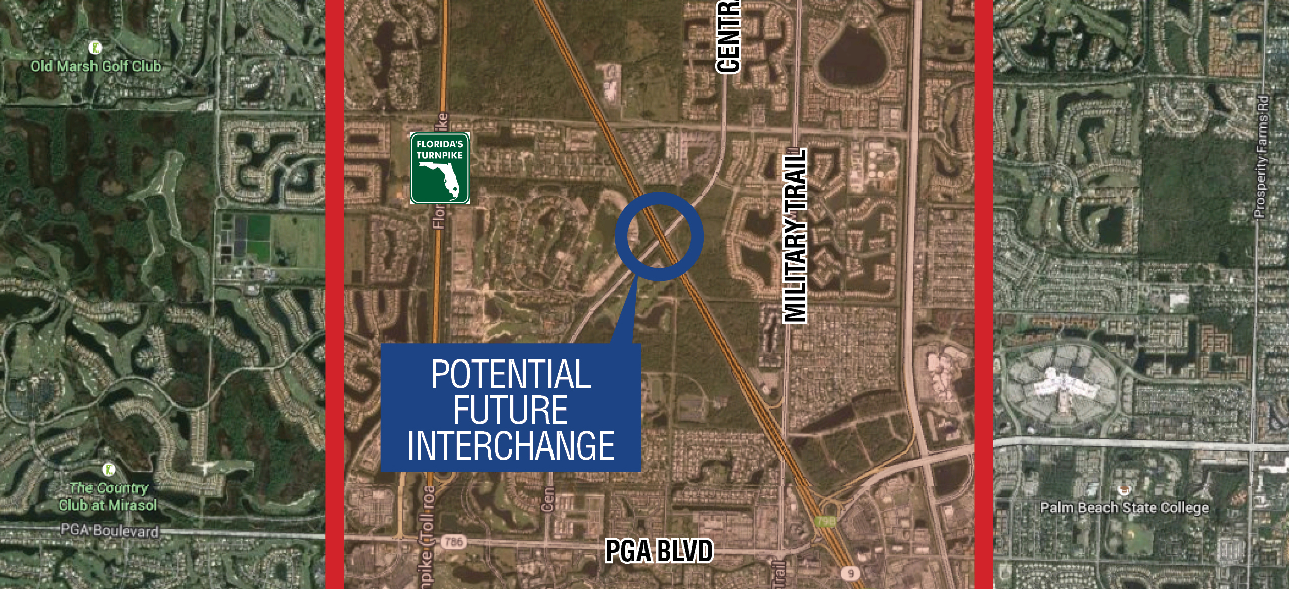 FDOT - State Road 9/I-95 at PGA Boulevard/Central Boulevard Project